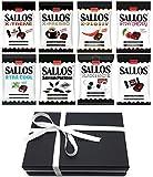 Sallos Lakritz Mix - mit hochwertigem wiederverwendbarem Foodstore Geschenkkarton