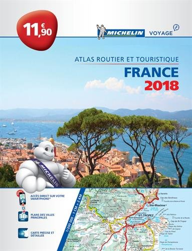 Atlas routier France Michelin 2018