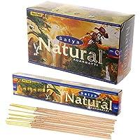 Satya Natural Räucherstäbchen/Agarbatti 180Gramm Box | 12Packungen von je 15Gramm in Einer Box preisvergleich bei billige-tabletten.eu