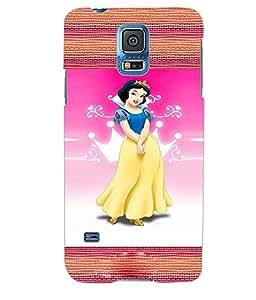 ColourCraft Princess Back Case Cover for SAMSUNG GALAXY S5