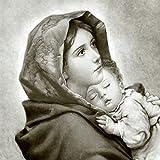 Qualitäts Servietten Vintage Photo Maria Kind 20 x 3-lagig 33x33cm