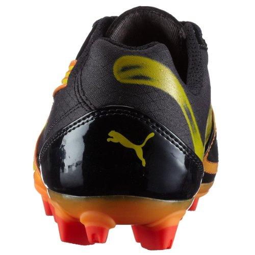 Puma Esito XL i FG Jr 101607 01, Unisex - Kinder Sportschuhe - Fußball Blau (Darknavy-Fluopeach-Pumared06)