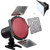 Yongnuo YN216 Pro LED lampe vidéo éclairage pour Canon Nikon Sony Caméscope DSLR + diffuseur