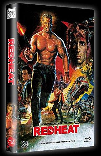 Schwarzenegger & Belushi - RED HEAT - UNCUT - 2 Disc Limited 111er Collectors Edition Blu-Ray große Hartbox