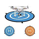"43""/110cm Large Drone Landing Pad, AooPoo Fast-Fold Parking Apron Landing Pad For Drone DJI Phantom 2/3/4/4 Pro, DJI Inspire 2/1, DJI Mavic Pro, 3DR Solo drone, Parrot drones, Antel Robotic X-star, Syma, Hubsan, Holy Stone, UDI drones"
