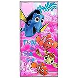 'Disney Pixar Buscando a Nemo & Dori Velour strandlaken FUN & Sea
