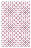 i.stHOME Klebefolie Rauten pink Elliot - Möbelfolie selbstklebend Dekorfolie Möbel 45x200 cm - Selbstklebende Folie rosa, Selbstklebefolie Vintage Retro Motiv, Bastelfolie