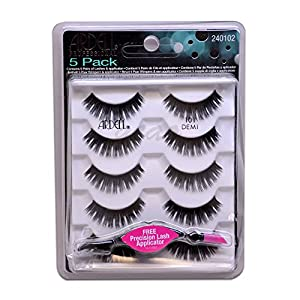 Ardell Fashion Lashes- 5 Pairs/Pack 101 Demi - FREE APPLICATOR