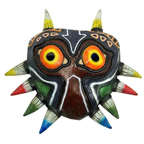 FUGUI Majora's Maske Deluxe Spiel Cosplay Rosenmontag Karneval Kostüm Replik für - Majora's Mask Kostüm