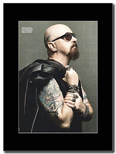 Judas Priest, Rob Halford Magazine Promo su un supporto, colore: nero