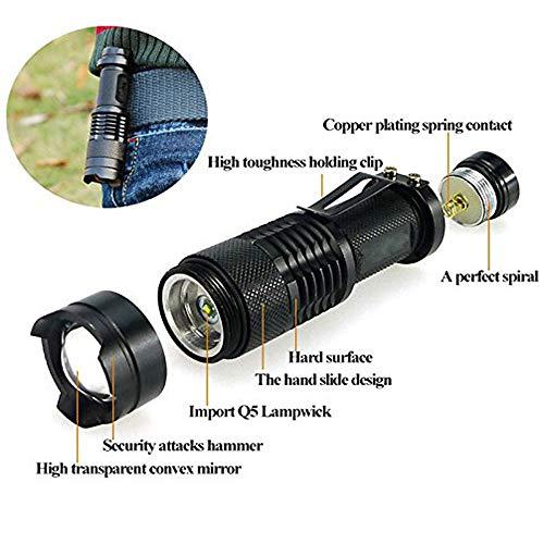 Led UV Taschenlampe 395nm Licht Ultra Violet Blacklight Lampe Für Marker Checker Detektion Fluoreszierende detektor - Blacklight-lampe