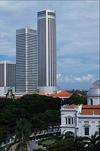 695068-national-museum-and-westin-stamford-hotel-towers-singapore-a4-photo-poster-print-10x8