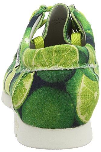 Sioux Grashopper-D-141, Mocassins (loafers) femme Vert - Grün (limette)