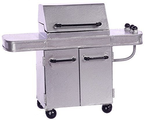Dollhouse Miniature Gas Grill by Town Square Miniatures