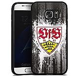 DeinDesign Samsung Galaxy S7 Silikon Hülle Case Schutzhülle VfB Stuttgart Fussball Stuggi