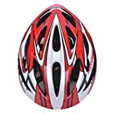 Erwachsene Jugend Kind Essential Skate / BMX / Scooter verstellbare Helm (rot)53-61cm