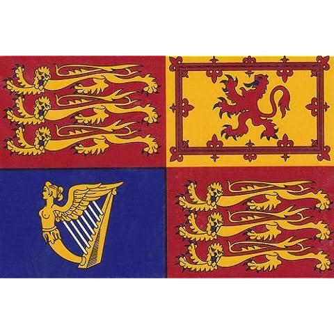 Royal Standard Flag Decal - 3.5