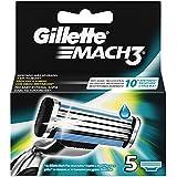 Gillette MACH3 Cuchillas, 5 unidades