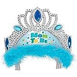 Corona en azul para la fiesta del bebé / Baby Shower Niño
