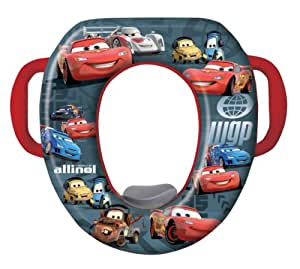 Disney Cars Soft Potty Seat - Black/Red