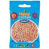 Hama Beads MINI (Pequeño 2,5 mm.) 2000 piezas (26 Carne)