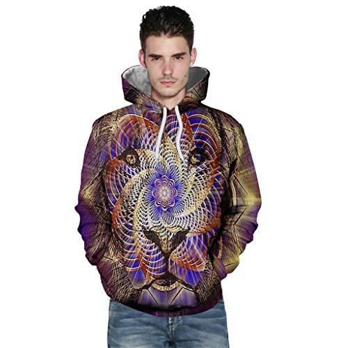 B-commerce Unisex 3D Hoodie Herren Damen Kapuzenpullover Langarm Drawstring Pullover Sweatshirt mit Tasche für Halloween, Kostüm, Party, Neuheit - Russische Boy Kostüm