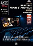 Realtime Movie Standards - Guitar: 8 Session Play-alongs von Film-Soundtracks für Gitarre mit MP3-CD