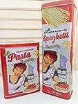Vorratsdosen 2er Set Vintage Pasta Ro...