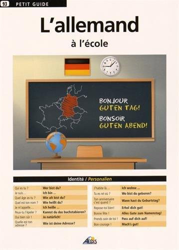 L'allemand à l'école