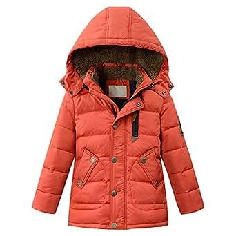 Harveyman Ragazzi inverno caldo dell'anatra giù del cappotto di inverno rivestimento lungo