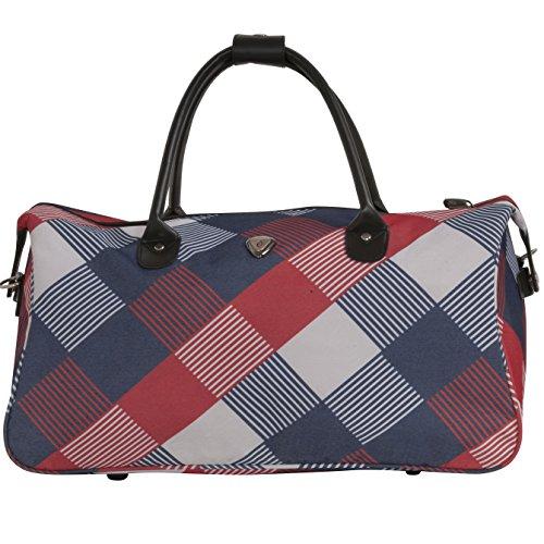 calpak-hampton-red-blue-checker-20-inch-carry-on-duffel