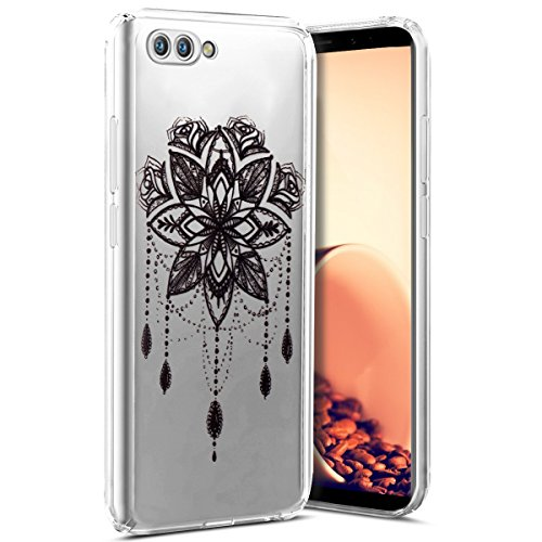 Coque Huawei Honor View 10,Etui Housse Huawei Honor View 10 TRANSPARENTE SOUPLE SILICONE TPU étui de Protection,Surakey Ultra Fine Léger Coque Housse Étui pour Huawei Honor View 10 (Campanule)