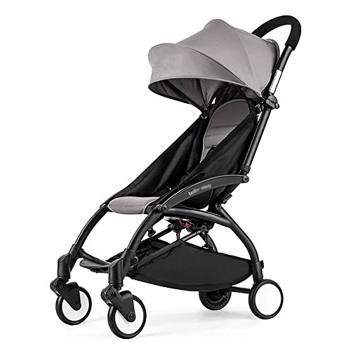 ZB Product Name: Baby Stroller Product Material: Oxford Cloth + Aluminum Alloy Product Size: Before Folding: 43*61*93cm After Folding: 25*60cm Whether It Can Be Folded: Can Be Folded Net Weight: 4.3kg