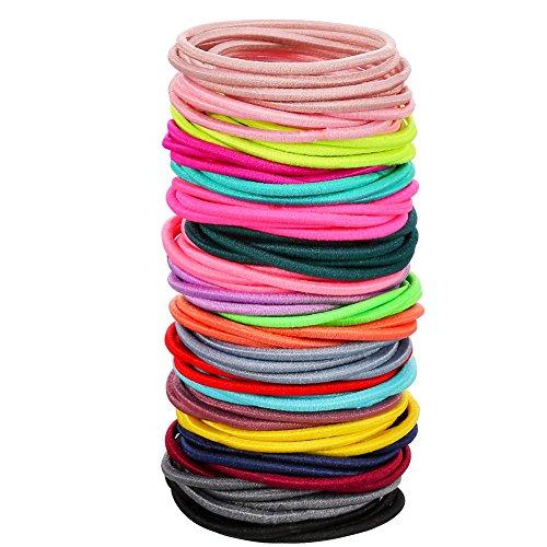 Youmei Diademas de moda Turban Headwraps Candy Colours Hair Bands Accesorios para el deporte kWQkub2