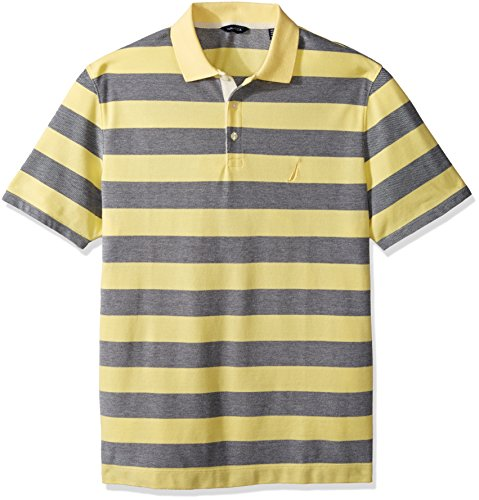 nautica-mens-short-sleeve-striped-oxford-polo-shirt-sunshine-large