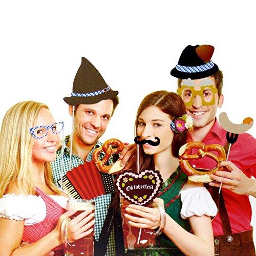 Oktoberfest Photo Booth - Volksfest Foto Verkleidung Foto Requisite Party - 2