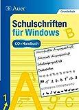 Schulschriften für Windows und Mac - Einzellizenz