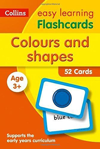 Colours and Shapes Flashcards (Collins Easy Learning Preschool)