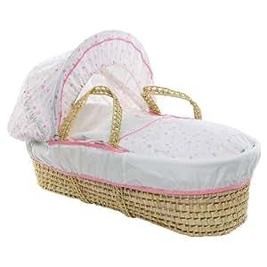 Liquorice Corner Sweet Little Dreams Moses Basket