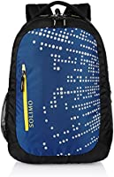 Amazon Brand - Solimo Laptop Backpack for 15.6-inch Laptops (28 Litres, Midnight Blue)