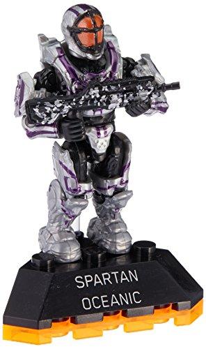 Mattel Mega Bloks Halo Heroes Series 2 DPJ81 Spartan Oceanic Figur #5