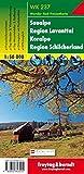 Saualpe - Region Lavanttal - Koralpe - Region Schilcherland, Wanderkarte 1:50.000, WK 237 (freytag & berndt Wander-Rad-Freizeitkarten) - Freytag-Berndt und Artaria KG