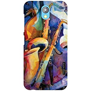 Design Worlds Back Cover For HTC Desire 526G Plus - Multicolor