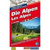Die Alpen 1:275 000 Motorradkarten: 6 Motorradkarten (Hallwag Freizeitkarten)