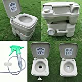 #3: Young India Impex Portable Outdoor Camping Picnic Toilet Orthopaedic Aid Event Furniture Commode