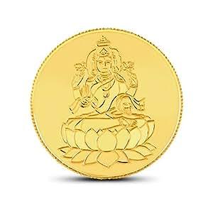 CaratLane BIS Hallmarked 5 gm Lakshmi Gold coin