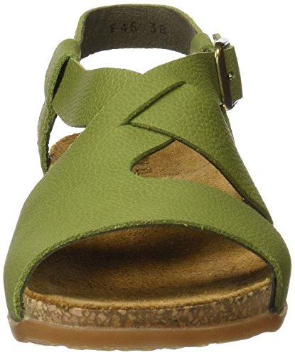Ladies Nf46 El Naturalista Peeptoe Sandali verde Verde qUn8Zn