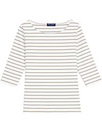 Saint James Women's T-Shirt multicolour Neige/Sable