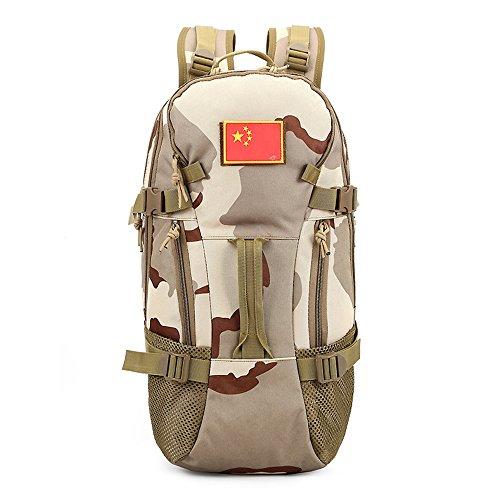 e-jiaen Rucksack 75L Hohe Kapazität Umhängetaschen/Handtasche für Speicher oder Veranstalter von Comping Wandern Reisen Mountaining Angeln Sport Zubehör C4