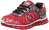 Spiderman Boy's Red and Black Indian Shoes - 13 kids UK/India (32 EU)